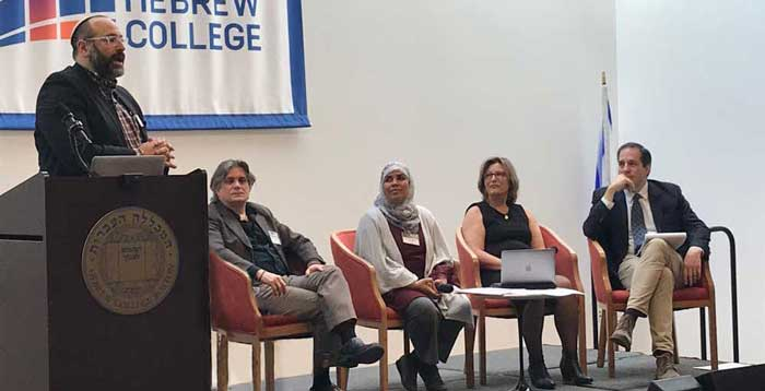 Rabbi Or Rose and faculty at Dying Well Conference in April 2019