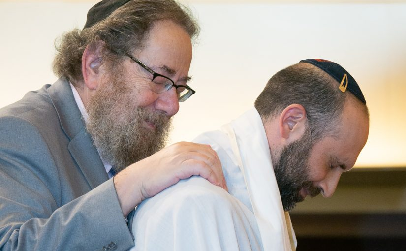 Rabbi Art Green and Rabbi Joel Goldberg
