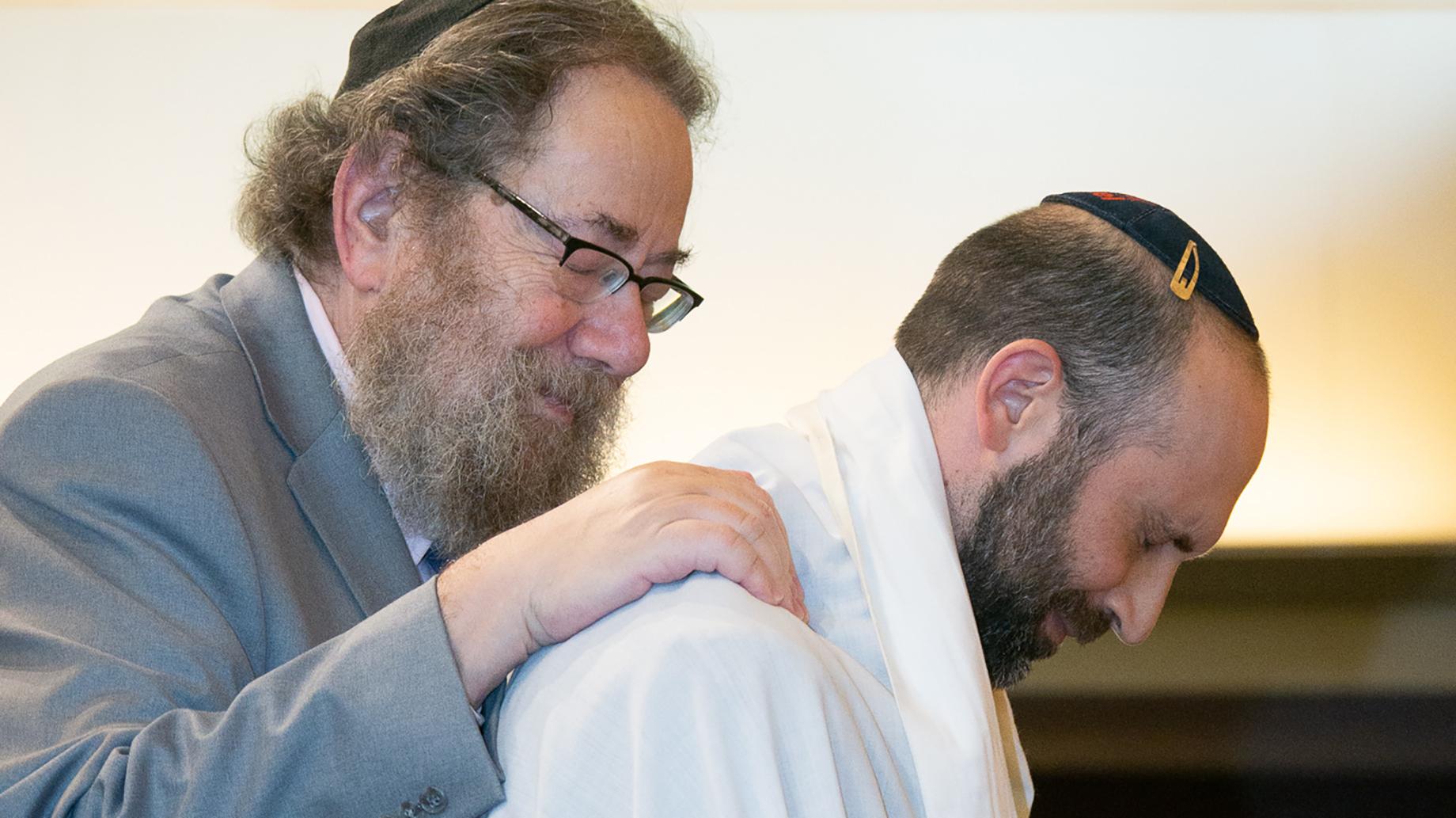 Rabbi Art Green and Rabbi Joel Goldberg
