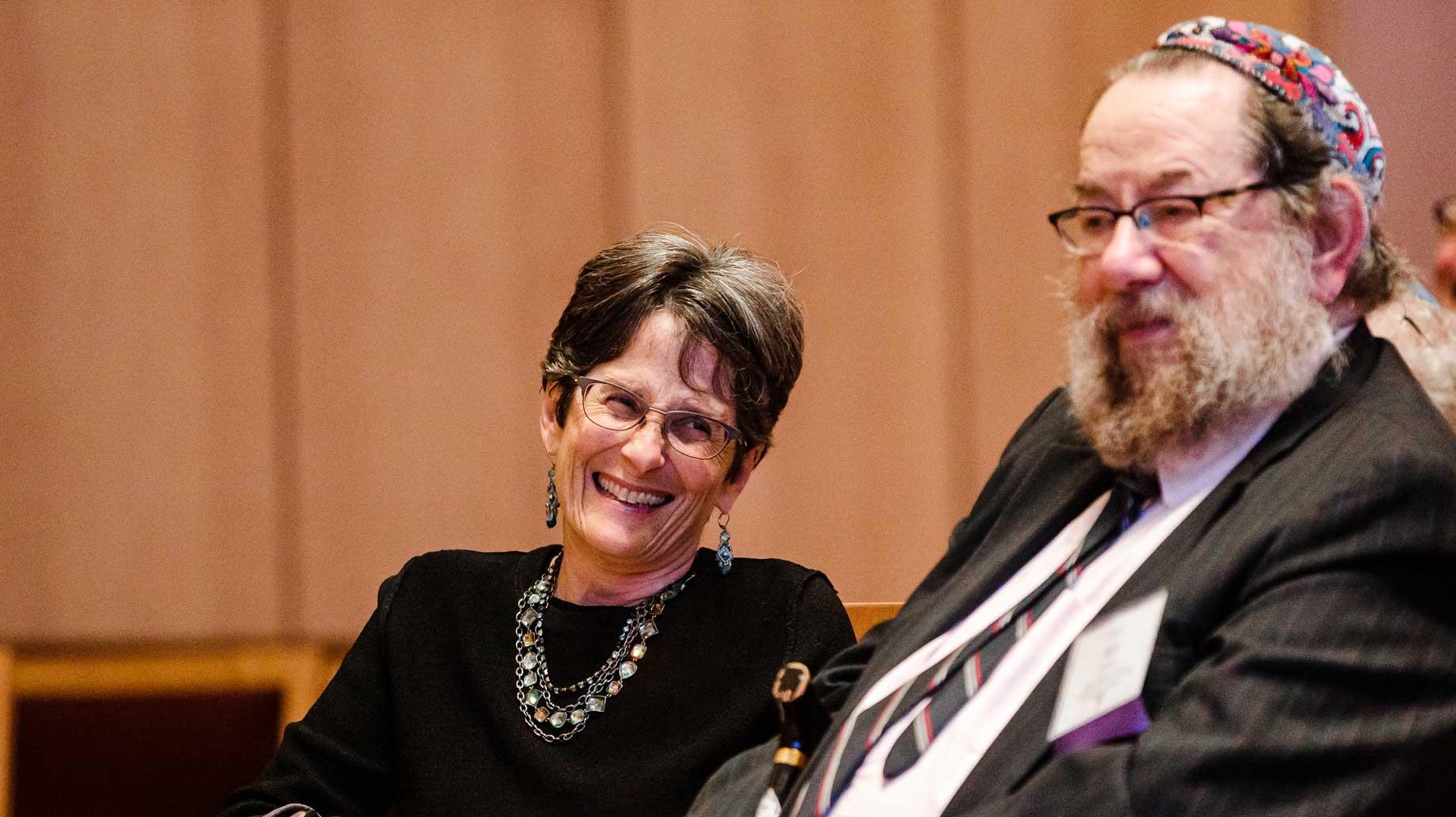 President Anisfeld and Rabbi Art Green