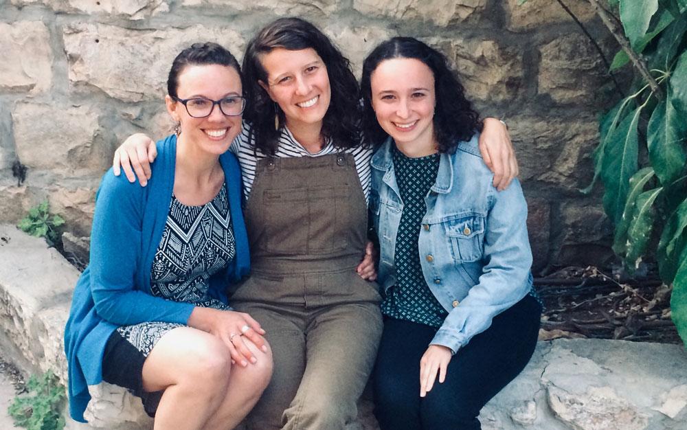 Batya Ellinot,Giullia Fleishman, Sara Blumenthal