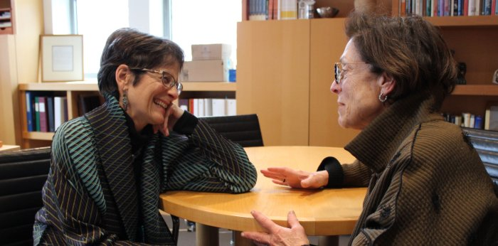 Sharon Cohen Anisfeld and Deb Feinstein