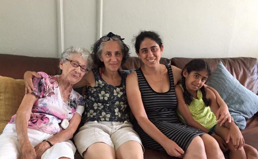 Leann Shamash with grandchildren