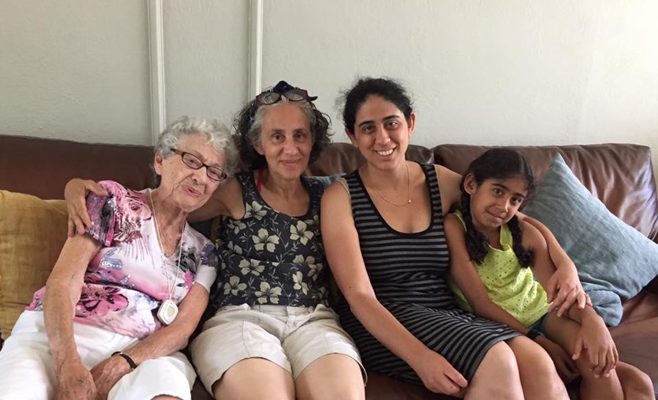 Leann Shamash with grandchildren