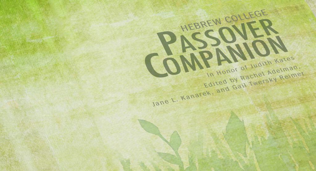 Passover companion - closeup