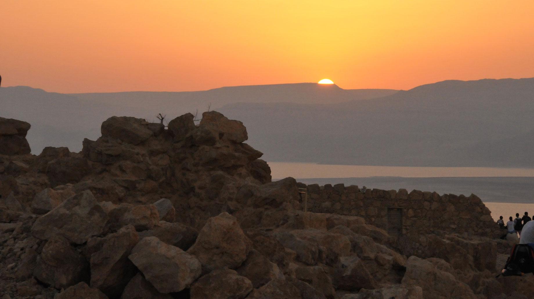 sunset Israel