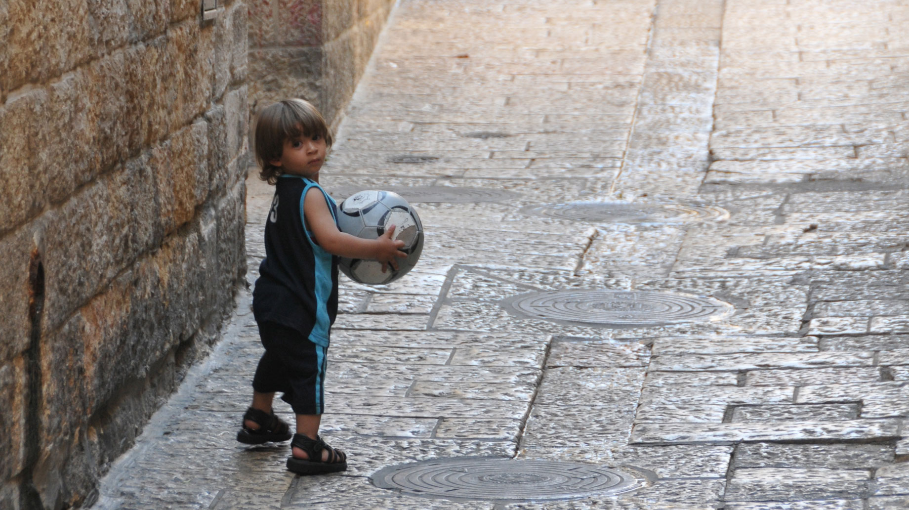 boy in Old City