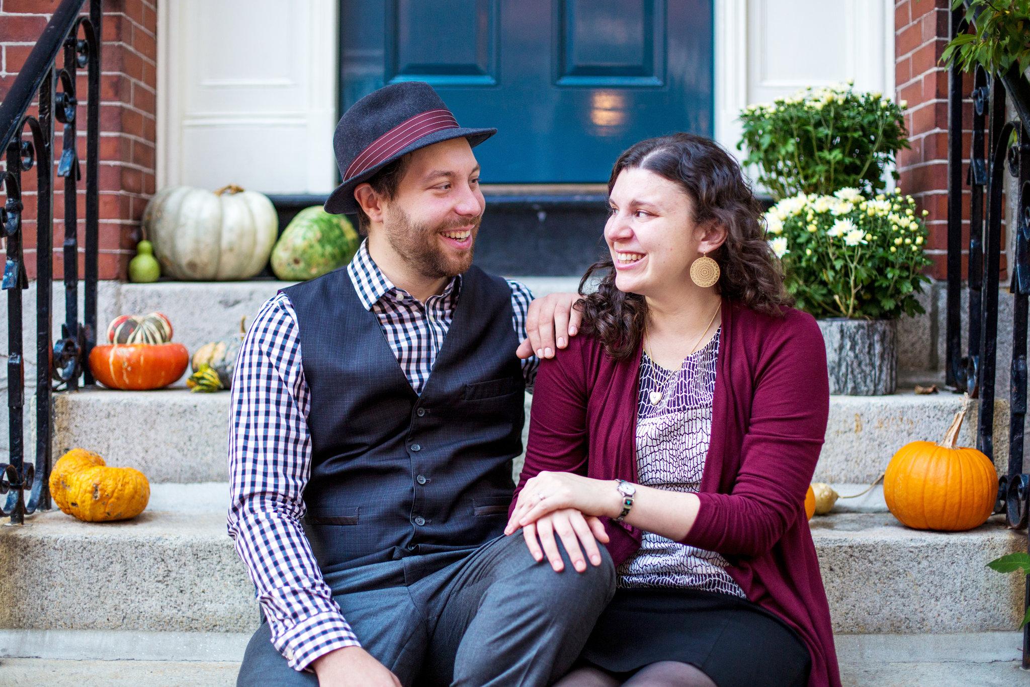 Leah Rosenberg and Getzel Davis