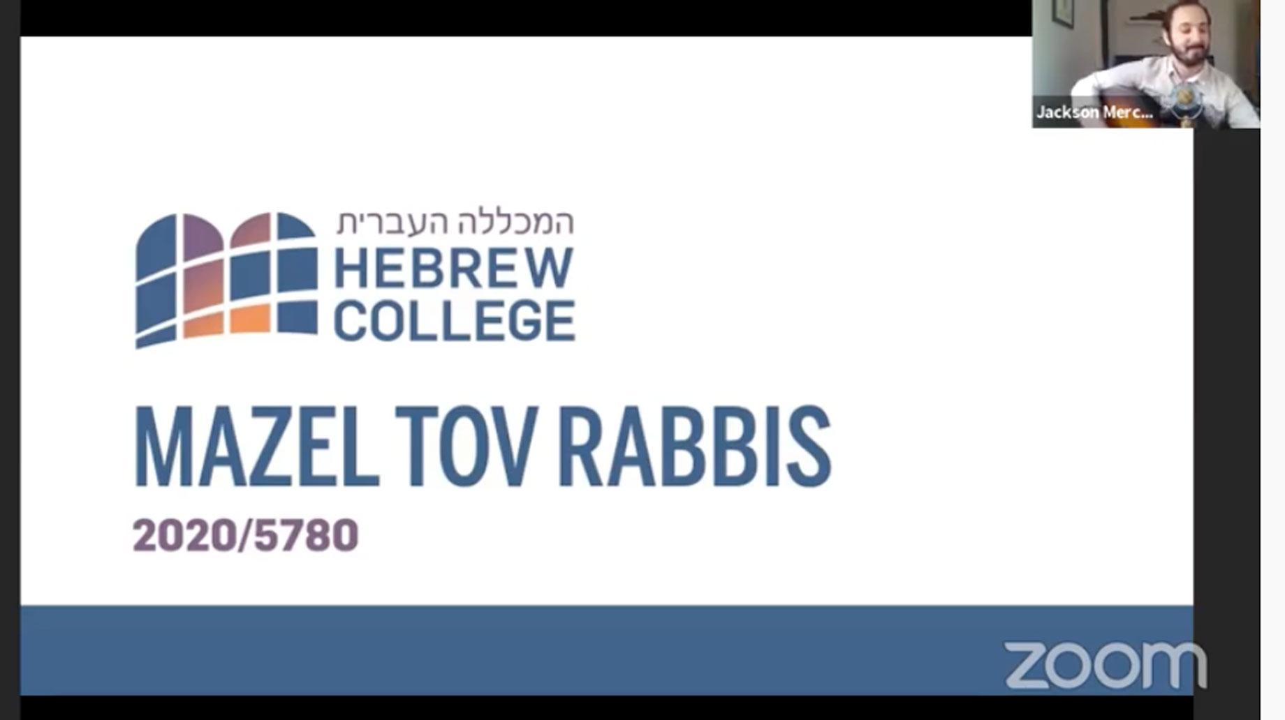mazel tov rabbis slide