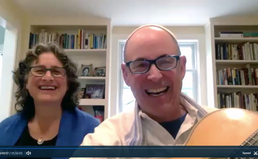 Rabbi Lev and Joyce Friedman