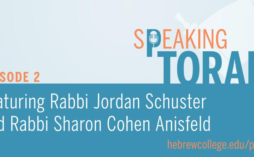 Speaking Torah presented by Hebrew College | Vertical Ladders of Sky, Horizontal Ladders of Earth by RabbiJordan Schuster, Read by Rabbi Sharon Cohen Anisfeld