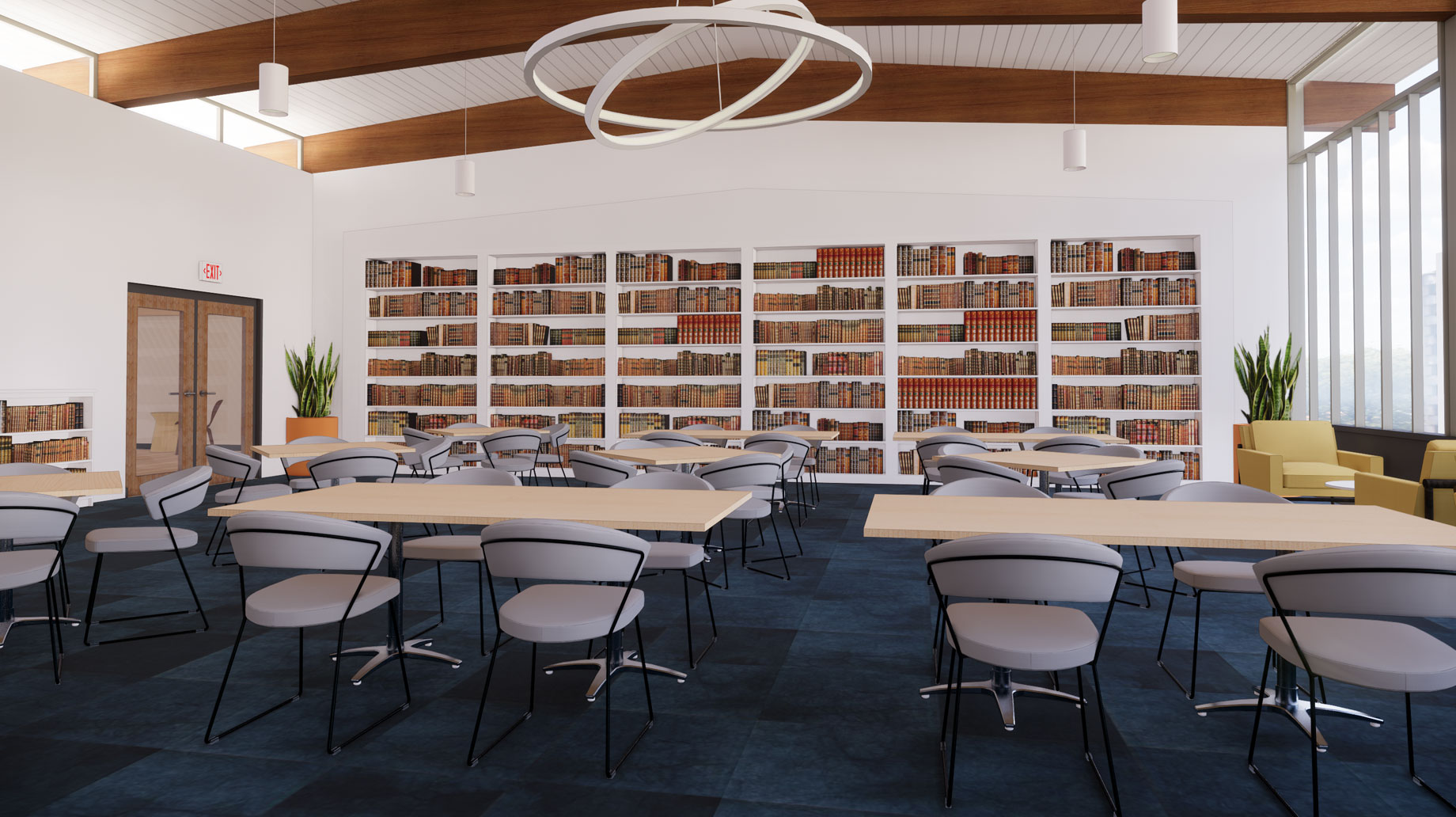 Hebrew College Beit Midrash rendering