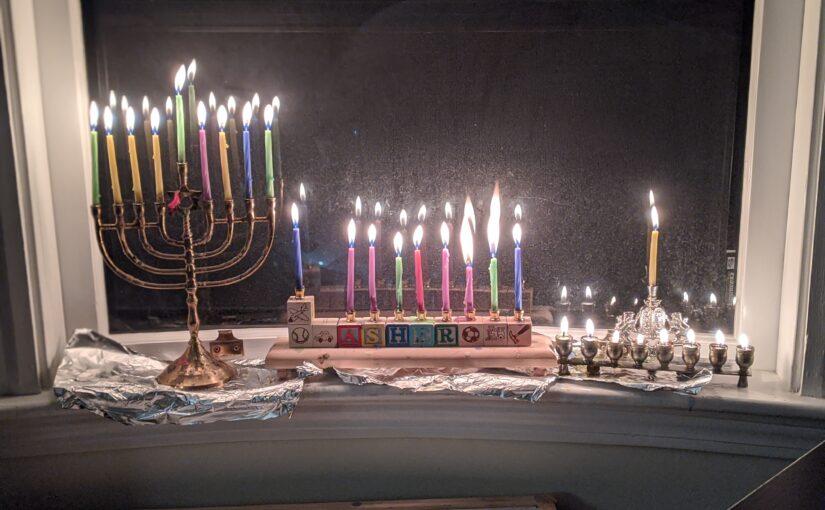 Getzel's menorah