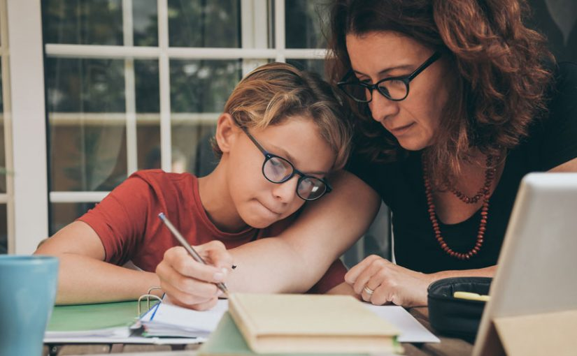 mother-child-homework