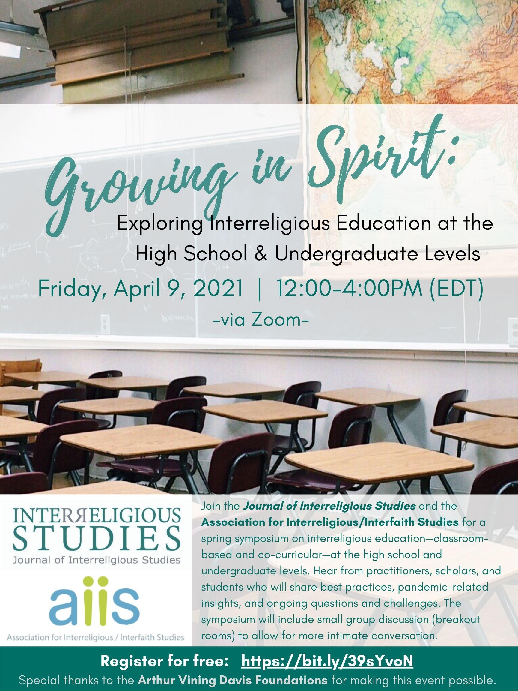 Growing in Spirit Symposium