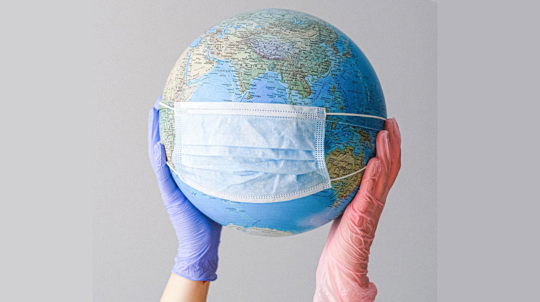 COVID-globe