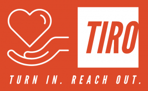 Turn In. Reach Out logo