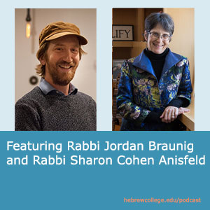 Speaking Torah by Hebrew College   When the Walls of Metaphor Can't Hold with Rabbi Jordan Braunig and Rabbi Sharon Cohen Anisfeld