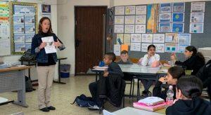 Jennifer Saber teaching