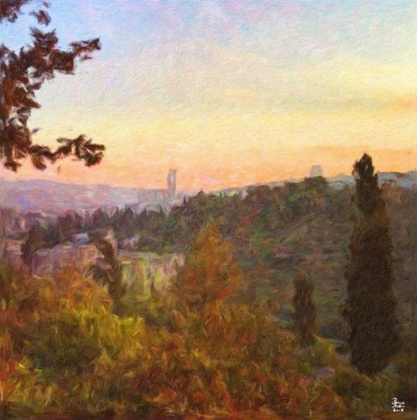 jerusalem-hills-painting