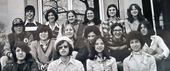 Prozdor students in the 1970s